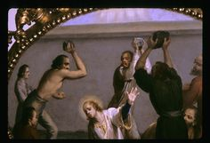Stoning of St. Stephen the first martyr Enich, Steven