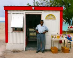Pastor and his shop