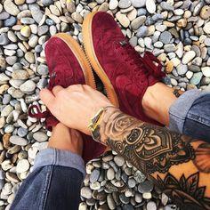 Sneakers femme - Nike Air Force 1 Suede Low (©celouuuuuuuu)
