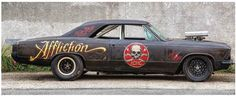 Ratty Affliction Chevelle. Hot rod done right