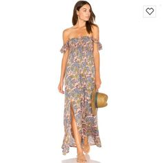 92e2eea1c86bf Shop for Tiare Hawaii Hollie Off The Shoulder Maxi in Folk Salmon at  REVOLVE. Free day shipping and returns, 30 day price match guarantee.