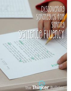 Discovering Strategies for Strong Sentence Fluency