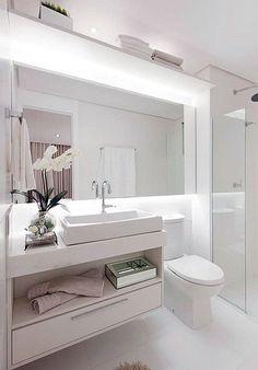 Resultado de imagen de banheiros pequenos decorados