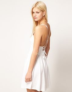 ASOS Summer Dress with Corset Back