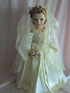 Madame Alexander Brideh. I love the vintage brides.