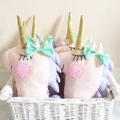 "UNICORN ARMY ""Lilly"" Pastel Unicorn at handmadeheartshop.bigcartel.com"