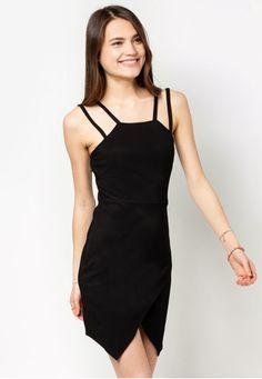 ORIGAMI HEM DRESS  Price : RM47 #yoloveitmy #yoloveitmalaysia #black #origami #dress #under50 #simple #plain #sleeveless #fashion