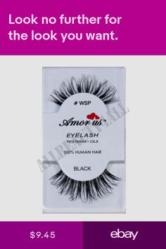 07f153bc487 AmorUs 100% Human Hair False Eyelashes #WSP (pack of 6 pairs) compare Red  Cherry