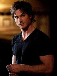 The Vampire Diaries, Ian Somerhalder | (Votes received: 664; 3%) ''Damon Salvatore FTW!'' — Liz ''Yes! Damon is the hottest man on TV!'' — lrg
