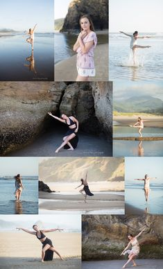 Oregon Coast Dance Photo Session at Cannon Beach by Portland Senior photographer Shannon Hager Photography Ballet Photos, Dance Photos, Cannon Beach, Dance Studio, Oregon Coast, Senior Photography, Photo Sessions, Teen, Urban
