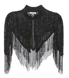 Ganni - Humphrey beaded shawl - Ganni's Humphrey capped-sleeve shawl is crafted… Kpop Fashion Outfits, Girls Fashion Clothes, Stage Outfits, Fashion Dresses, Stylish Dress Designs, Stylish Dresses, Simple Dresses, Gypsy Fashion, Gothic Fashion