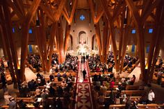 Our Lady of Loreto Catholic Church, Foxfield, Colorado. Constructed 2005. Our family church