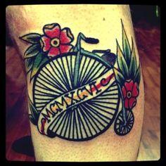 Penny wheel done by Tyler Monahan in Toledo OH
