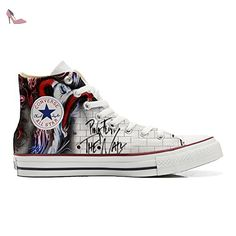 Make Your Shoes Converse Customized Adulte - chaussures coutume (produit artisanal) sexy woow size 43 EU 09uh1