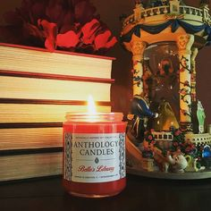 On #SmallBusinessSaturday we wanted to share one of the candles that started it all for us: my original creation that will always hold a special place in my heart Belle's Library!    There's still time to #ShopSmall and SAVE today: enter the code Holidays2016!  Wonderful photo from the creatively talented @xenatine  Thank you so much Christine!!    #book #books #bookstagram #bookstagrammer #biblophile #booklovers #bookart #bookaddiction #bookaholic #booknerd #bookgeek #bookworm…