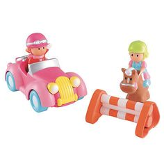 HappyLand Vintage Car and Horse : Early Learning Centre UK Toy Shop Toys Shop, Imaginative Play, Early Learning, Rubber Duck, Animals And Pets, Vintage Cars, Baby Items, Playroom, Boy Or Girl