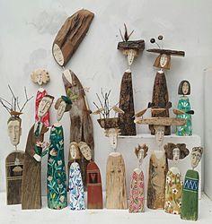 Lynn Muir | Wooden Figures