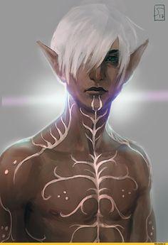 sagasketchbook-Фенрис-DA-персонажи-Dragon-Age-3778835.jpeg (1024×1486)