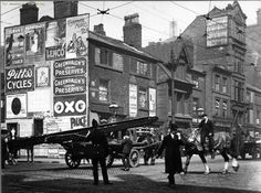 1904: A picture of Portland Street around the Princess Street crossing