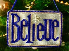 """""""Believe"""" •®Mill Hill"""