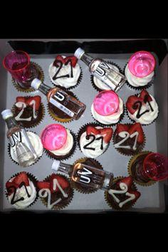 21st Birthday Cupcakes Food Pinterest 21st birthday cupcakes