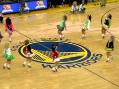 Healy Irish Dancers Warriors Game 2012