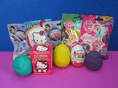 Surprise Eggs - Kinder - NEW MyLittle Pony + More! Hello Kitty, Littlest Pet Shop, Chocolate Eggs, Playdoh Eggs