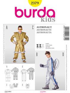burda style astronaut