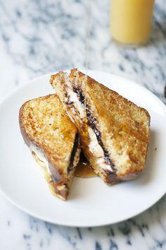 s'mores french toast | heathersfrenchpress.com #smores