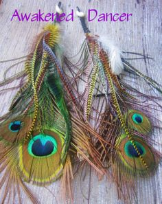 FREE SHIPPING Awakened Feather Earrings Feather by infinefeathers, $43.00