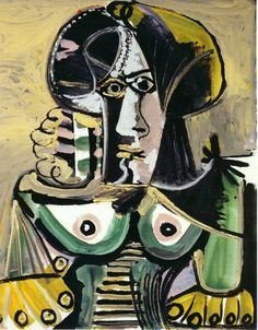 Bust of woman, 1971, Pablo Picasso