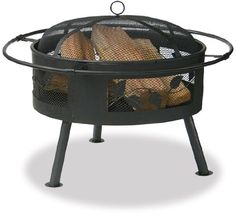 Endless Summer WAD992SP Aged Bronze Outdoor Firebowl with Leaf Design | Best Prices