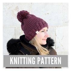 The Sophia Hat Knitting Pattern