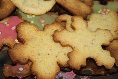 Kruche ciasteczka z mielonymi migdalami Biscuits, Cookies, Food, Crack Crackers, Crack Crackers, Essen, Biscuit, Meals, Cookie Recipes