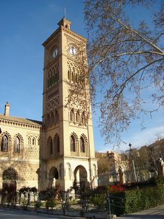 Toledo, Spain - clock tower (tourist attraction)