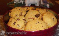 Csokis keksz recept fotóval