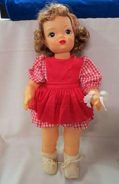 Vintage Terri Lee Doll Original Clothes Corsage Violet Lee Gradwohl by KansasKardsStudio on Etsy