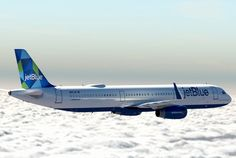 """JetBlue Airways Airbus A321-231 N947JB """"Una Nueva Menta-lidad"""" around the time of its delivery, February 2015. With premium two-class """"Mint"""" cabin interiors, N947JB works exclusively on transcontinental New York-Los Angeles and New York-San Francisco services. (Photo: JetBlue Airways)"""