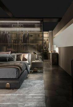 Modern Bedroom Decor, Gray Bedroom, Bedroom Ideas, Bedroom Designs, Bedroom Lamps, Contemporary Bedroom, Bedroom Lighting, Master Bedroom, Bedroom Chandeliers