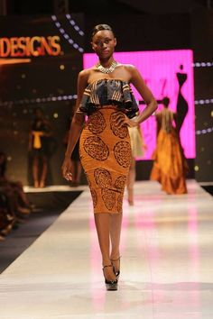 African Fashions From Ghana Africa maryzo glitz africa fashion week 2013 fashionghana african fashion African Fashion Designers, African Inspired Fashion, African Dresses For Women, African Print Fashion, Africa Fashion, African Attire, African Wear, Ethnic Fashion, African Prints