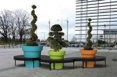 Kreative Stadtdekorationen