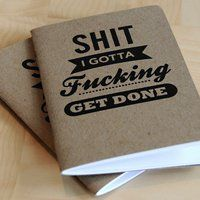 I don't think a guy would go around with a froofy to-do list notebook. So I imagine they'd feel manlier with this instead. To Do App, Pin It, Planners, Just In Case, Just For You, Folders, Little Presents, Man Presents, Pocket Notebook