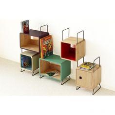 Salamandre bibliothèque 5 modules - Corto
