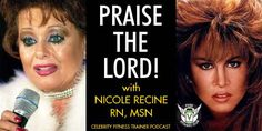 "Praise The Lord with Nicole Recine. Episode 651 – Vinnie and Diabetes Specialist Nicole Recine RN talk about the lack of ""NSNG Doctors"", comedians from the 80's, fallen televangelists, and the PTL (Praise The Lord) Club. PLEASE SUPPORT OUR SPONSOR Pure Vitamin Club NICOLE RECINE"