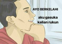 Memes indonesia ikon New ideas Memes Funny Faces, Funny Jokes To Tell, Funny Texts, Disney Memes, Jokes Quotes, Funny Quotes, Memes Humor, Funny Humor, Quotes Lucu