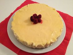 Lemon curd Cheese Cake #cakes #ricette