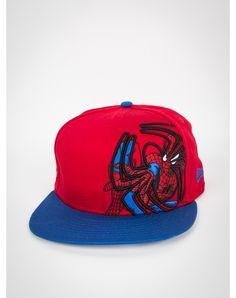 78c3bf881de New Era Spiderman Logo Over Snapback Hat New Era Hats