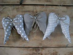 Angel wings – as a Christmas decoration, gift tags, souvenirs to Adventska … - Ideas Diy Crafts