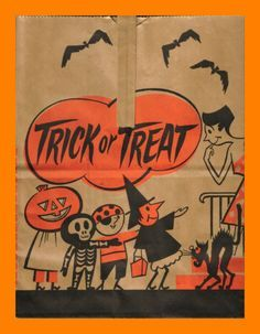 1940s halloween bags - Google Search