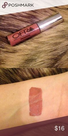 Ofra long lasting liquid lipstick in Pasadena This gorgeous Ofra long lasting liquid lipstick in Pasadena is an absolute MUST HAVE!!! Seriously perfect for fall and goes with any look! 🍁🍂🍃 Makeup Lipstick